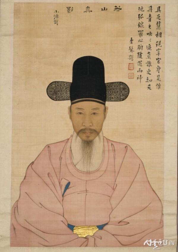 도3. 이재관, 강이오 초상, 조선 19세기 전반, 비단에 색, 덕수3070, 보물 제1485호.jpg