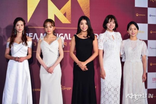 여자신인상후보 여자신인상후보  배우 해나, 강혜인. 김환희, 이혜수, 임찬민(왼쪽부터).jpg