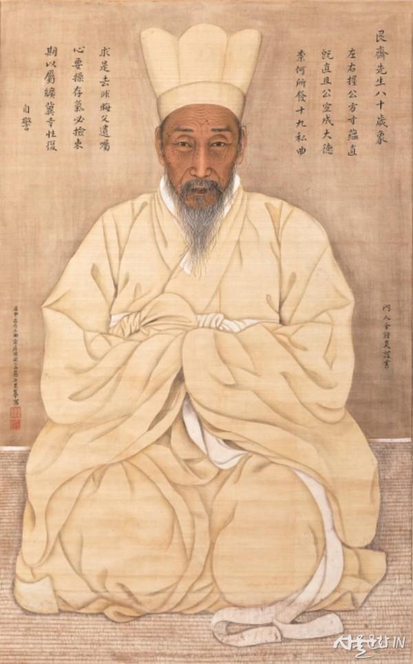 채용신, 전우 초상, 1920, 비단에 채색, 95×58.jpg