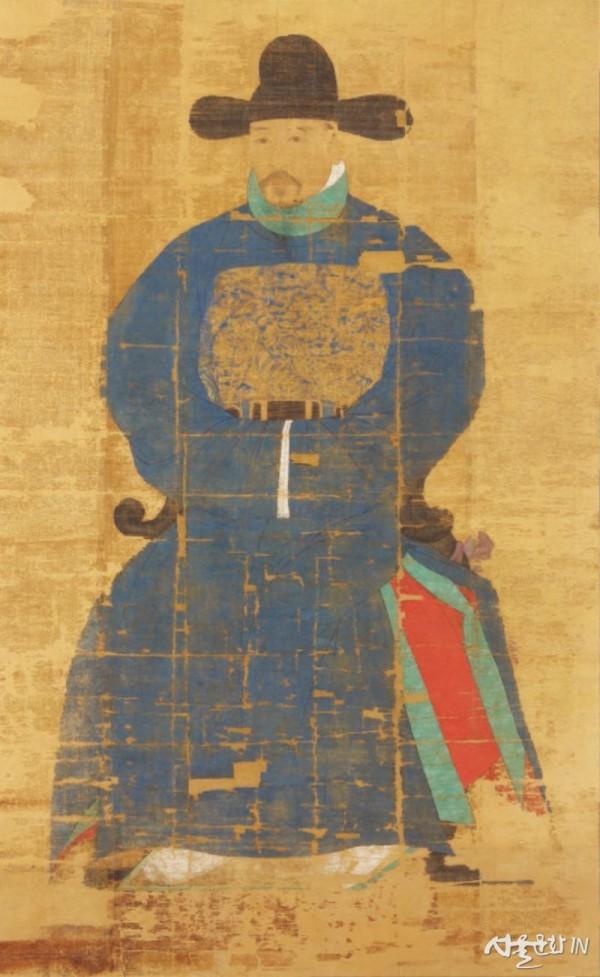 조선 전기 세조~성종 연간에 활동한 무관 오자치(1426~1476년 이후)의 초상.jpg