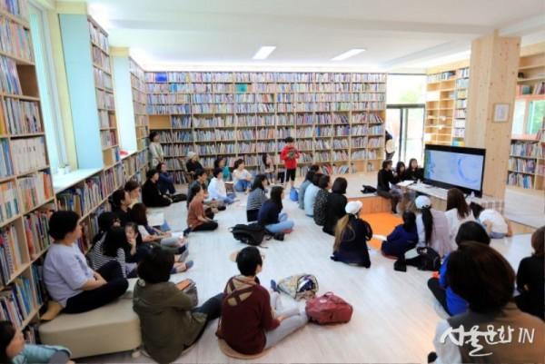 책마을해리의 중심 공간인 버들눈도서관  [사진=책마을해리].jpg