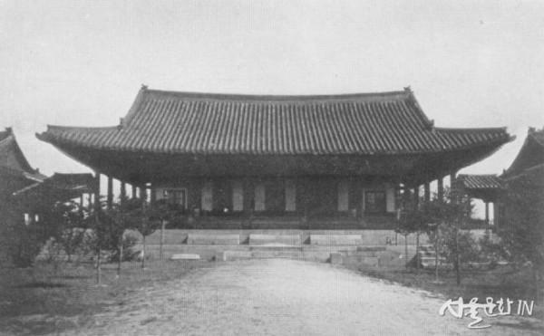 2. 구한말 의정부 중심 건물인 정본당 사진.jpg