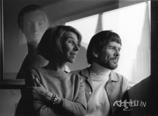 토베 얀손과 그녀의 남동생 라스 얀손, 1978년©Per Olov Jansson_ Moomin Characters TM  01.jpg