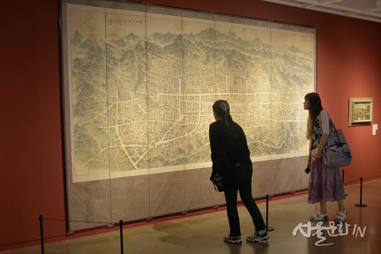 [전시] 그림으로 만나는 100년의 서울의 모습. 「유유산수_서울을 노닐다」
