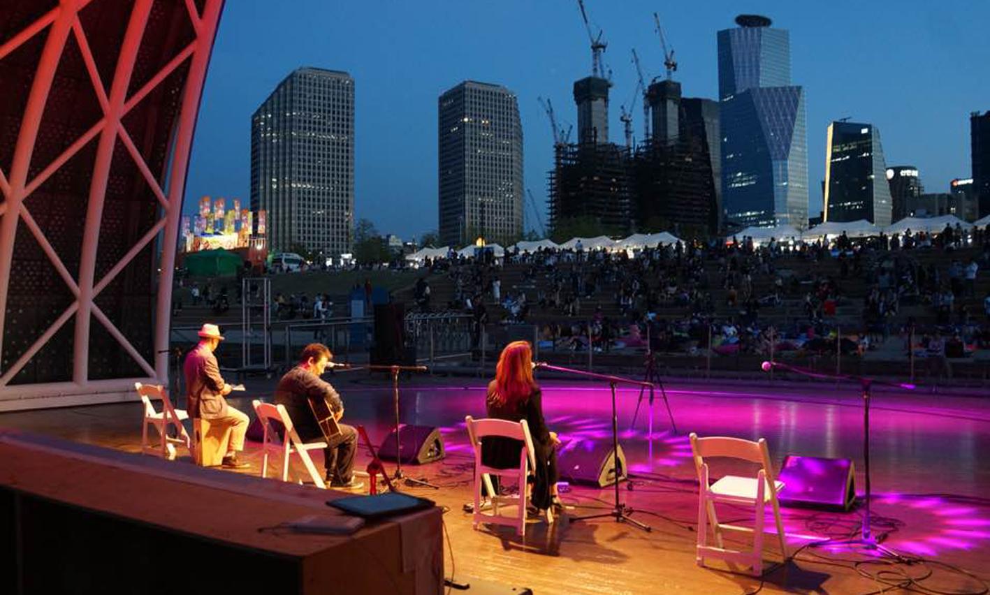 6월 매주 금·토 저녁 7시 한강에서 부담 없이 즐기는 무료 콘서트
