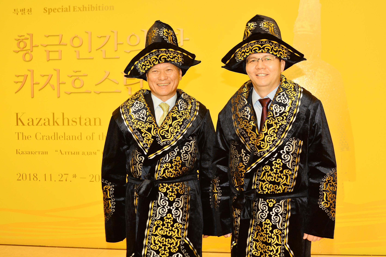 """[전시포토] 국립중앙박물관 특별전 """"황금인간의 땅, 카자흐스탄"""""""
