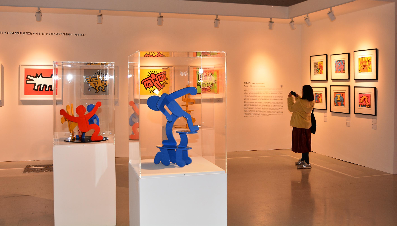 [전시] 키스 해링, 10년간의 불꽃같은 예술의 삶을 관통하다.