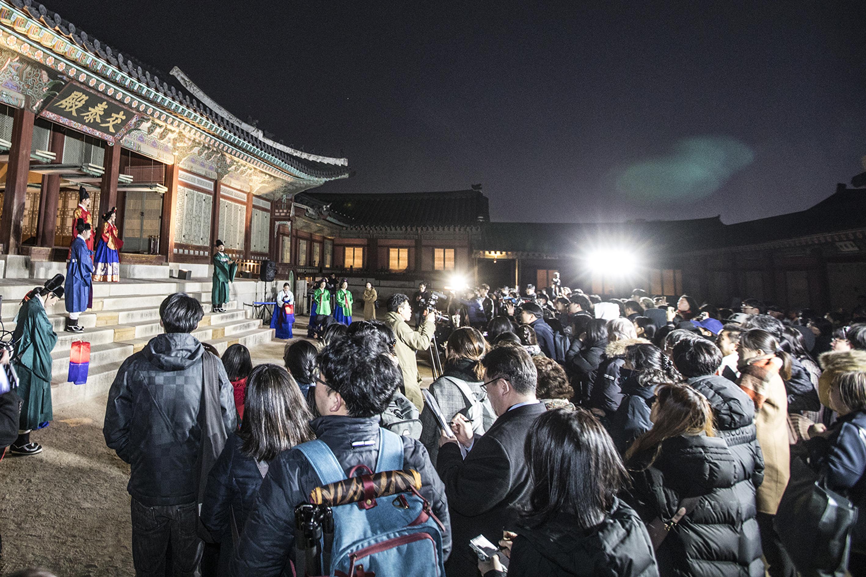 궁궐 활용 프로그램 확대로 관람객 전년 대비 대폭 증가