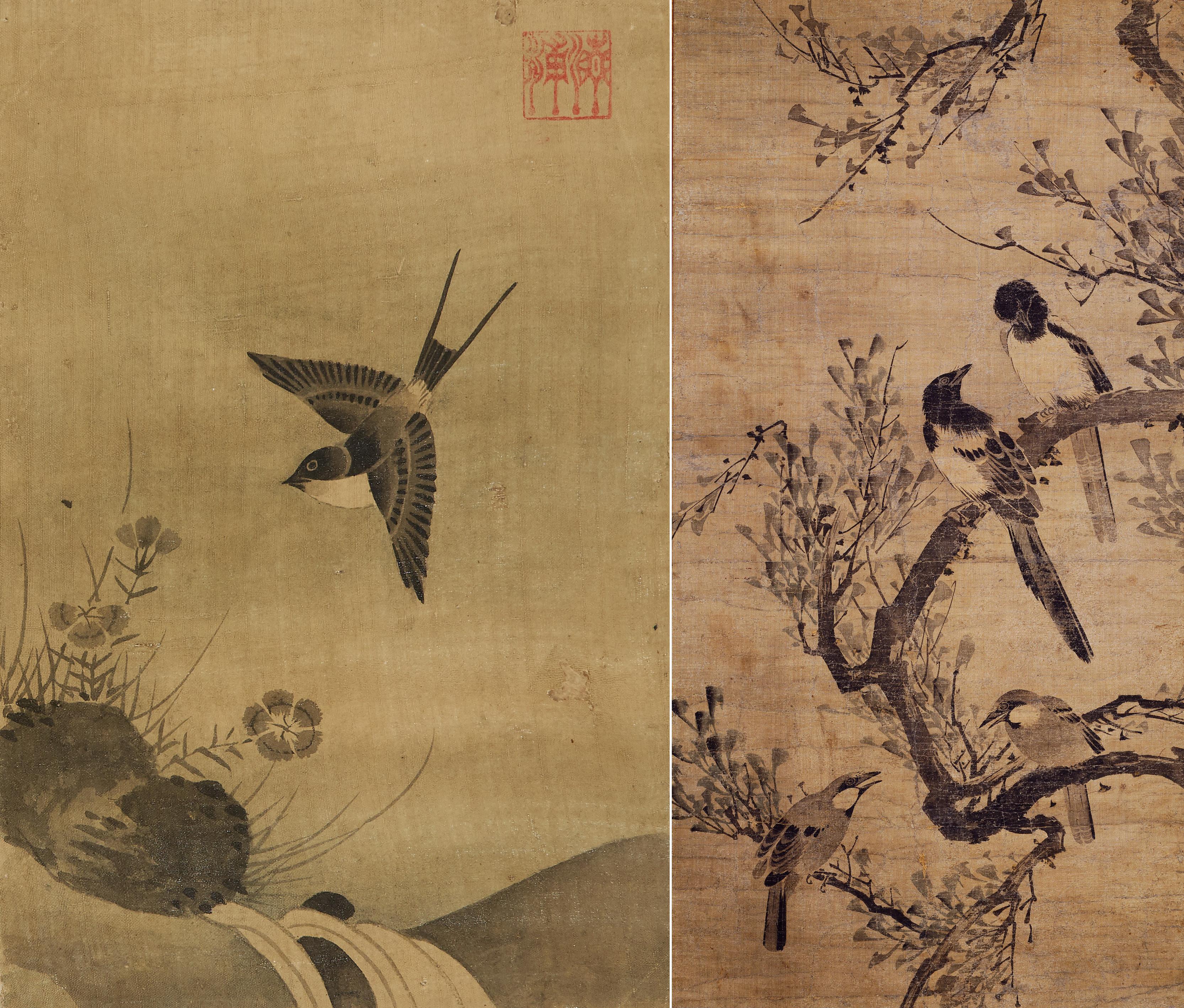 국립중앙박물관 서화실, 조선시대 화조화의 세계로 작품 교체