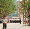 국민장_ 광화문의 모습