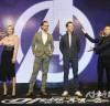 <어벤져스: 인피니티 워> 주연배우 4人 내한 기자간담회 가져.