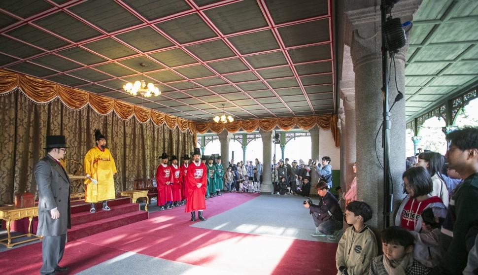 제5회 궁중문화축전, 덕수궁에서 '시간여행 그날, 고종-대한의 꿈' 공연