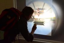 숭례문 광장에 들어선 거대한 카메라