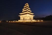 익산 미륵사지, 왕궁리 유적 야간 경관조명 가동