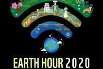 """지구를 위한 1시간, """"28일, 저녁 8시 30분 전등 꺼주세요"""""""