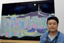 서울의 전경을 담은 전동민 작가의 사각티슈 2종 상품으로 출시된다.