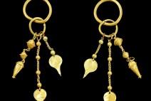 합천 옥전 출토 5~6세기 가야의 금귀걸이 등 가야 유물 5건 보물 지정 예고