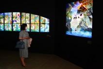 [전시] 98세 그림자 회화의 거장이 밝혀주는 환상의 세계, '빛과 그림자의 판타지展'