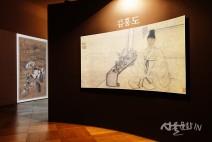[전시] 김홍도의 손끝에 탄생한 18세 조선의 풍속이 미디어로 재탄생되다.
